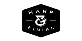 Harp and Finial Logo